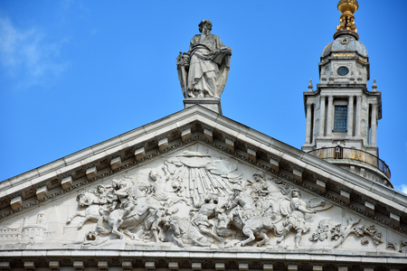 St. Pauls Cathedral in London, England