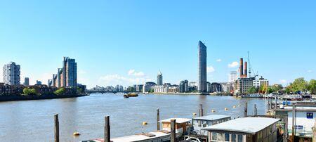 London panorama on river - UK Reklamní fotografie