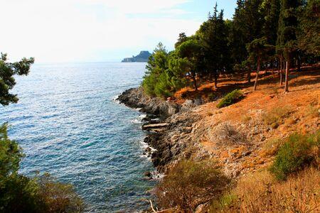 Corfu island Stock Photo