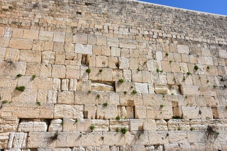 Wailing Wall in Jerusalem, Israel.