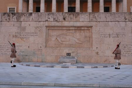 The Hellenic Parliament and The Tomb of the Unknown Soldier