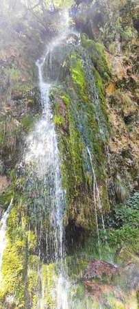Over 25 meters Waterfall in Europe (Balkan, Serbia) Stock Photo