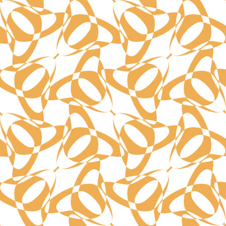 Vector abstract tulips seamless pattern. Regularly repeating folk flowers in retro style. Great for modern wallpaper, interior prints and decorative materials and fashion fabrics.