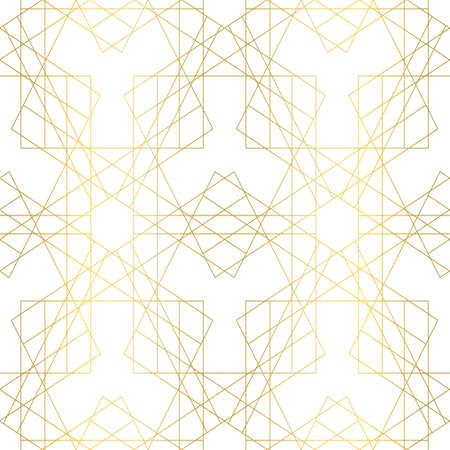 Elegant geometric seamless pattern.
