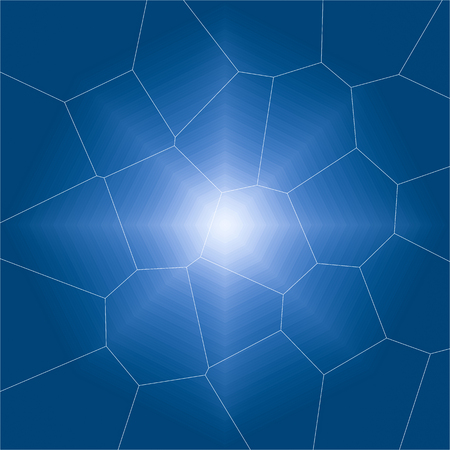 bright center: abstract blue black background texture with bright center Stock Photo
