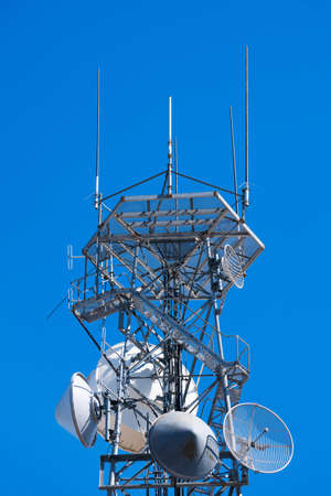 Radio telecommunications tower Stock Photo - 4713781