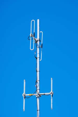 Radio telecommunications antenna Stock Photo - 4713782