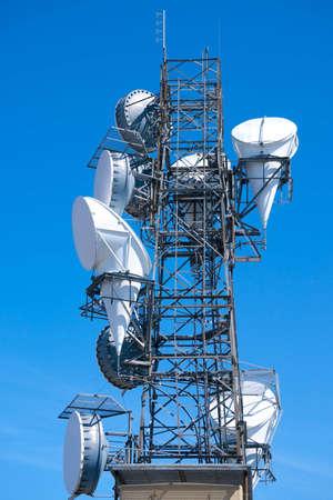 Radio telecommunications tower Stock Photo - 4768747