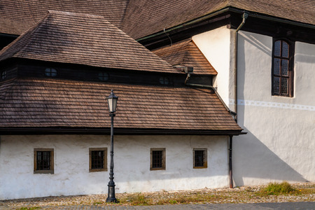 protestant: Wooden articular protestant church built in 1717 in Kezmarok, Spis region, Slovakia.