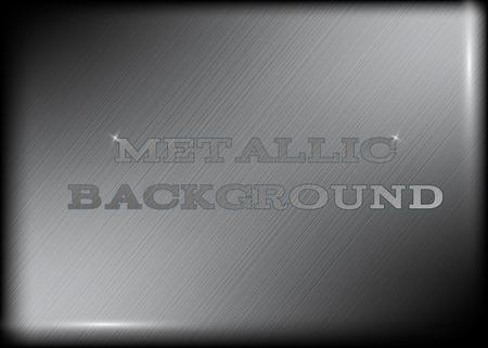 realistic metallic background tecstures for web design Ilustrace