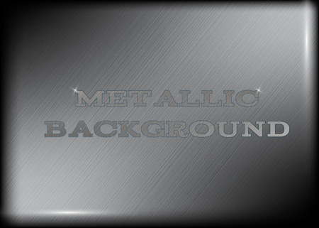 realistic metallic background tecstures for web design Illustration