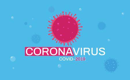 Coronavirus background poster