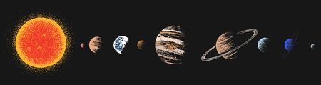 Solar system color version