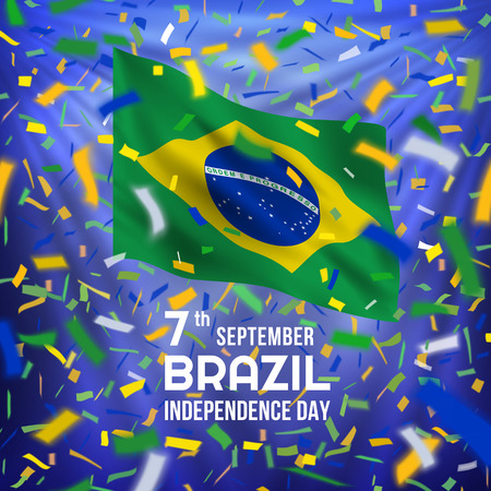 Brazilian independence day card