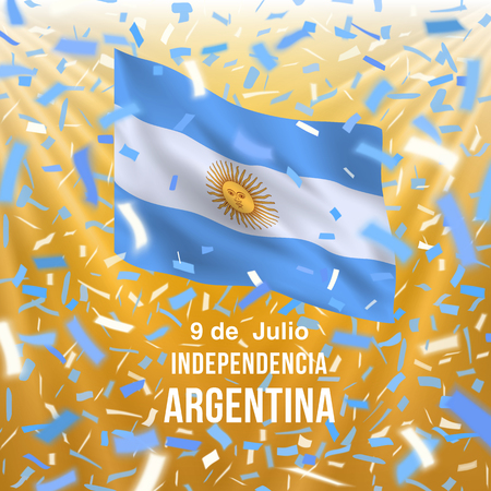 Argentina independence day card