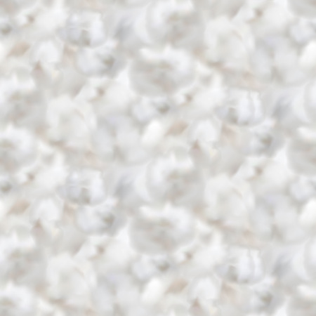 Vector cotton bolls light background. Seamless pattern