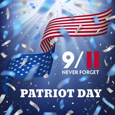 USA Patriot day card