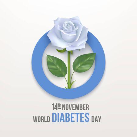 World diabetes day banner