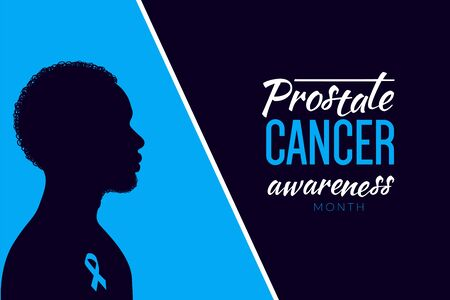 Prostate Cancer month concept