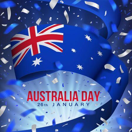 Happy Australia day card