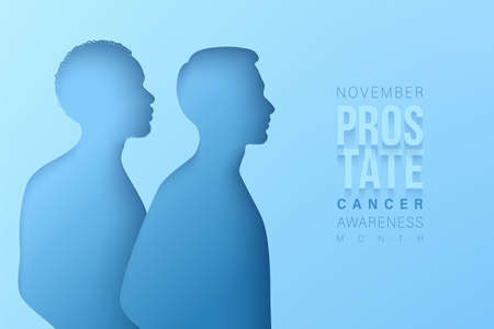 World Prostate Cancer month concept