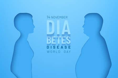 World diabetes day healthcare concept