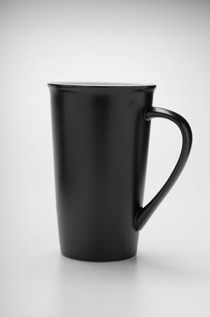 black: Black cup