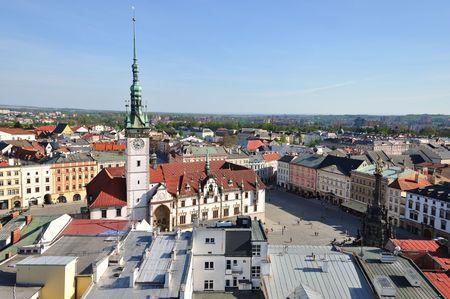 olomouc: View to vill Olomouc in The Czech Republic