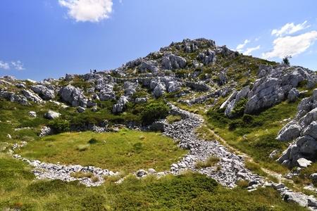 View of mountains at Biokovo, Croatia Stock Photo - 11698003