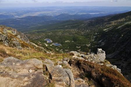 krkonose: Snow pit - Giant Mountains Krkonose, Poland - Czech
