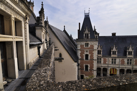 Royal Chateau of Amboise, Loire, France