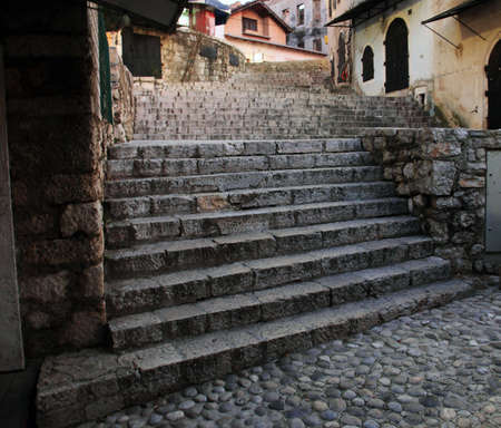 middle ages: stairs from middle ages