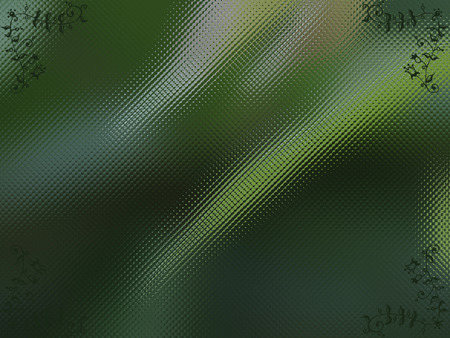 diminishing view: Abstract Green Glass Stock Photo