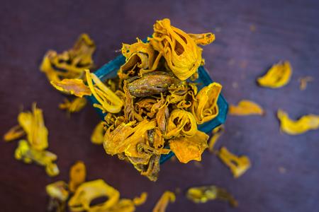 Close up of mace,javantri,Myristica fragrans.