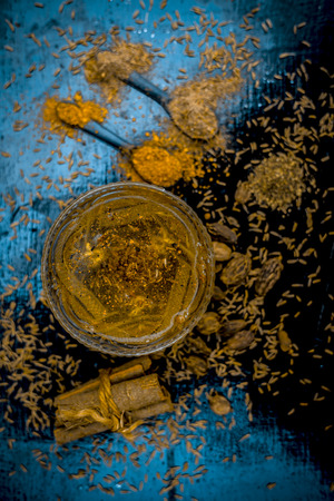 Ayurvedic home remedy for Stuffy Nose : Cardamom,cinnamon,cumin and black pepper with salt with warm water.