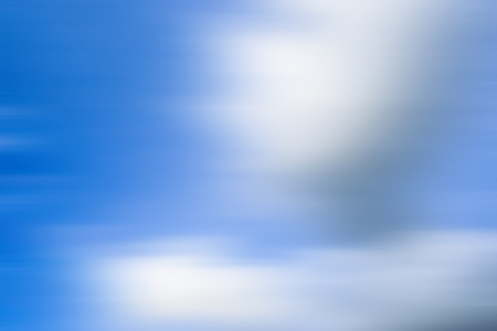 Nimbus clouds or monsoon clouds or rain clouds in the blue sky shot with motion blur effect. Stock fotó