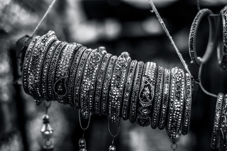 Jewelery like bangle , earing and many more of gold in market.