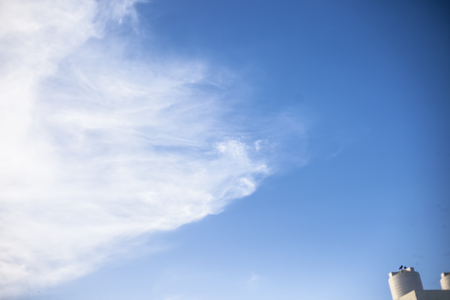 Sky full of clouds close up shot for wall paper and graphic designing purposes. Imagens - 124596293