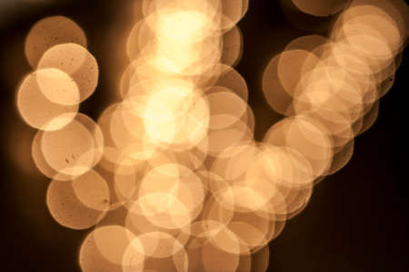 Bokeh effect or soft out of focus colorful decorative lights shot as an background.