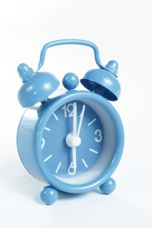o'clock: Oclock on white background Stock Photo