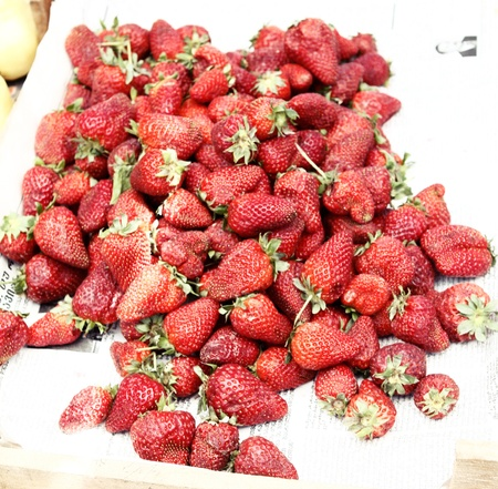 Strawberry for sale photo