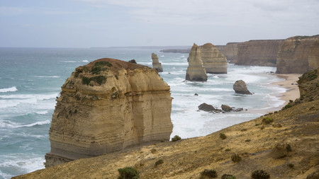 View of the Twelve Apostles at Port Campbell National Park, Australia 版權商用圖片