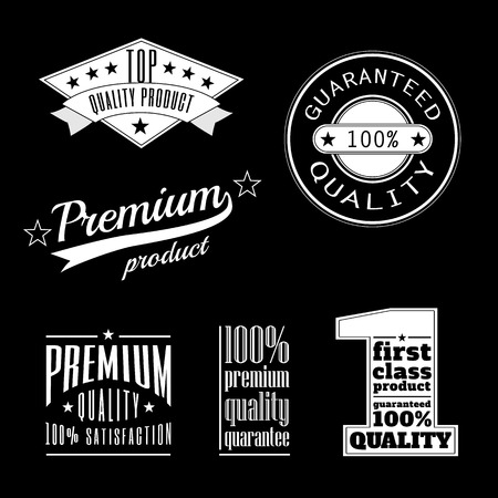 characterization: Vintage labels - premium and top quality products