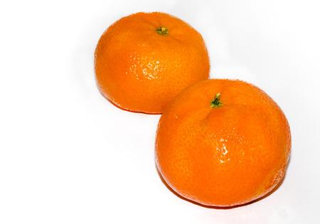 Mandarine oranges - isolated