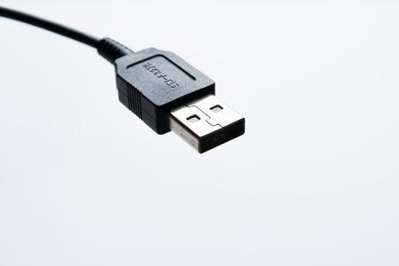 usb kabel: USB-Kabelstecker isoliert