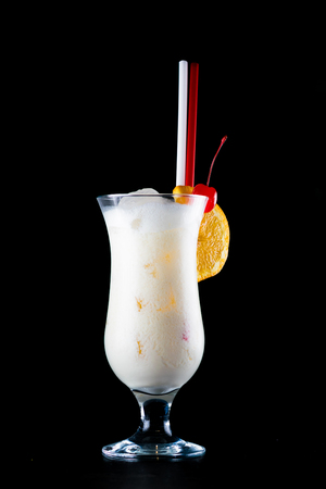 Pina colada isolated Imagens