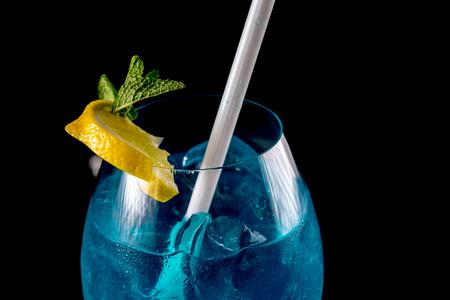 Blue drink detail Stok Fotoğraf - 53441972