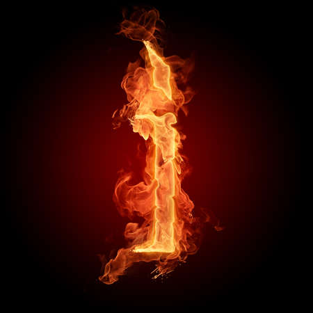 engulfed: Fiery font