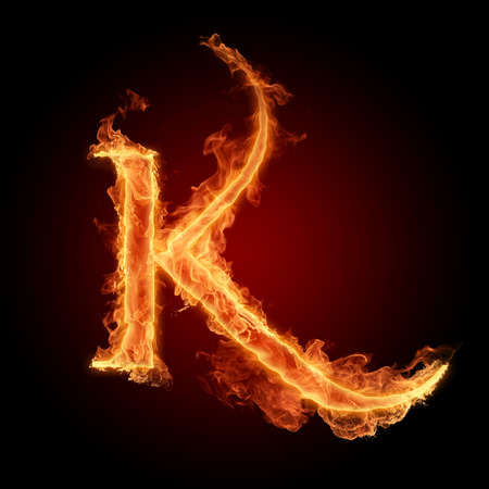 burns: Fiery font