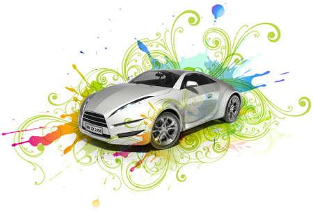 Original car design photo